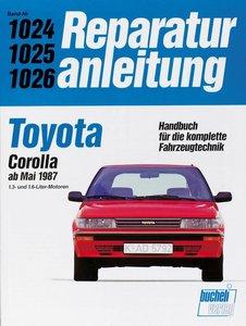 Toyota Corolla ab Mai 1987 1.3- und 1.6-Liter-Motoren