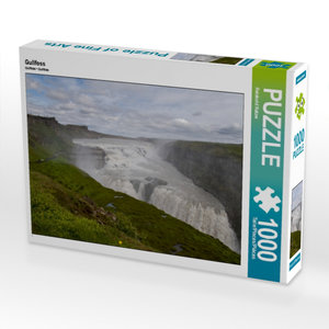 Gullfoss 1000 Teile Puzzle quer