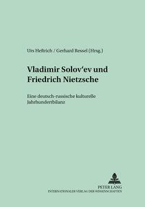 Vladimir Solov'ev und Friedrich Nietzsche