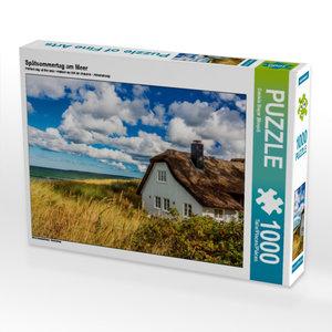 Spätsommertag am Meer 1000 Teile Puzzle quer