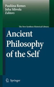 Ancient Philosophy of the Self
