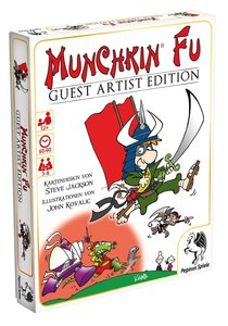Pegasus 17233G - Munchkin Fu Guest Artist Edition, Kovalic Versi