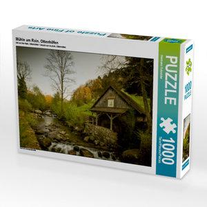 Mühle am Rain, Ottenhöfen 1000 Teile Puzzle quer