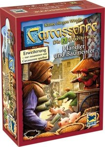 Carcassonne 2 Händler & Baumeister