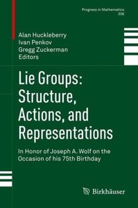 Lie Groups: Structure, Actions, and Representations