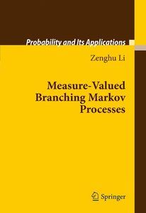 Measure-Valued Branching Markov Processes