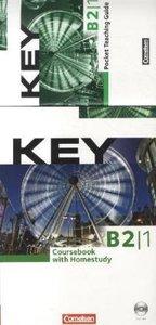 Key B2: Klasse 8. Teilband 1. Paket für Kursleiter/innen: Kursbu