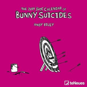 Bunny Suicides 2019 Mini-Broschürenkalender
