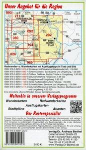 Große Radwander- und Wanderkarte Naturpark Schlaubetal, Frankfur