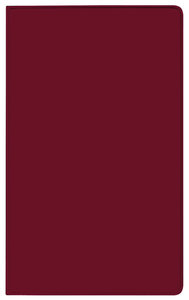 Taschenkalender Modus geheftet PVC burgund 2018