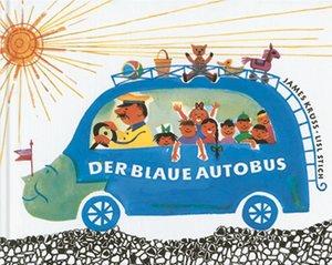 Krüss: blaue Autobus