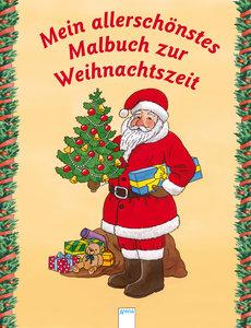 Mein allerschönstes Malbuch zur Weihnachtszeit