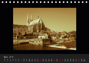 Sachsen (Tischkalender 2019 DIN A5 quer)