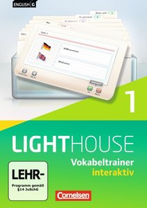 English G LIGHTHOUSE 01: 5. Schuljahr. Vokabeltrainer interaktiv