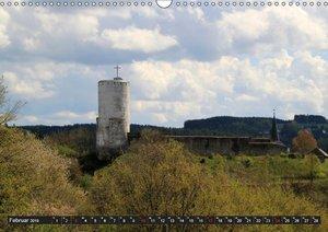 Burgen und Schlösser der Eifel (Wandkalender 2019 DIN A3 quer)