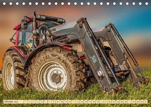 Landwirtschaft - Hightech und Handarbeit (Tischkalender 2018 DIN