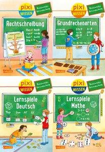 Pixi Wissen 4er-Set: Basiswissen Grundschule (4x1 Exemplar)