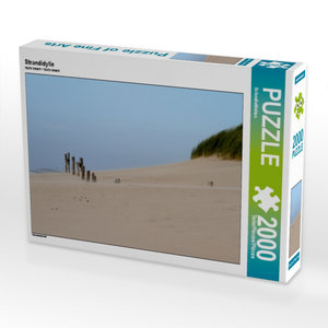 Strandidylle 2000 Teile Puzzle quer