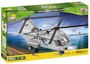 COBI 2365 - Heavy Transport Helicopter, Small Army, grau