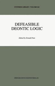 Defeasible Deontic Logic