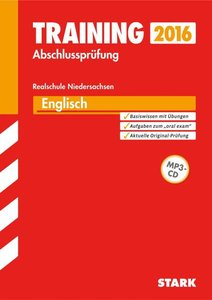 Training Abschlussprüfung Englisch mit MP3-CD Realschule Nieders