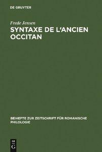 Syntaxe de l'ancien occitan