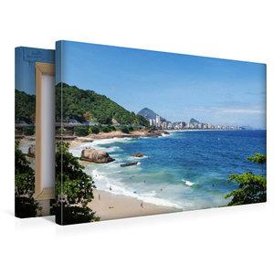 Premium Textil-Leinwand 45 cm x 30 cm quer Rio de Janeiro\'s Geh