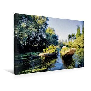 Premium Textil-Leinwand 45 cm x 30 cm quer Heimkehr vom Schwimme