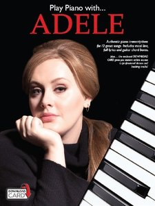 Play Piano With Adele (Piano Voice Guitar Book Updated Edition)