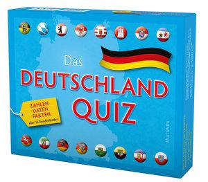 Das Deutschlandquiz - Zahlen, Daten, Fakten aller 16 Bundeslände