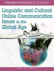 Linguistic and Cultural Online Communication Issues in the Globa