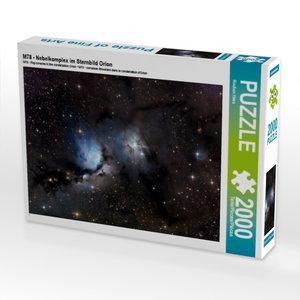 M78 - Nebelkomplex im Sternbild Orion 2000 Teile Puzzle quer