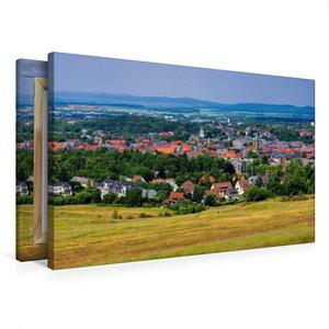 Premium Textil-Leinwand 75 cm x 50 cm quer Goslar