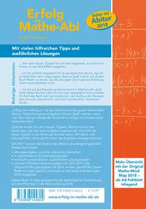 Erfolg im Mathe-Abi 2018 Pflichtteil Baden-Württemberg
