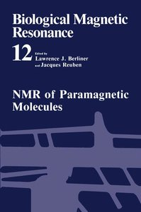 NMR of Paramagnetic Molecules