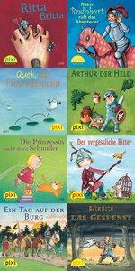 PIXI-Bücher. Serie 142. Mit Pixi auf der Ritterburg. 64 Exemplar