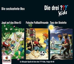 Die drei ??? Kids 3er Box, 3 Audio-CD