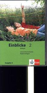 Einblicke Biologie - Ausgabe A / Lehrerband-CD mit