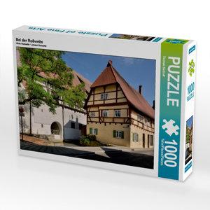 Bei der Roßwette 1000 Teile Puzzle quer