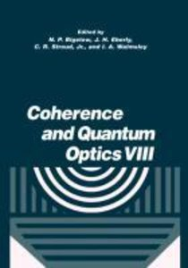 Coherence and Quantum Optics VIII