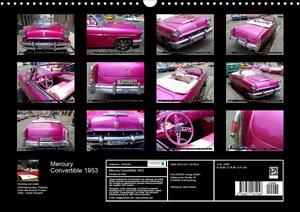 Mercury Convertible 1953 - Ein Traum in Pink (Wandkalender 2020
