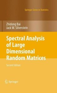 Spectral Analysis of Large Dimensional Random Matrices