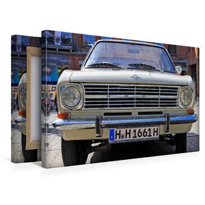 Premium Textil-Leinwand 45 cm x 30 cm quer Opel Kadett