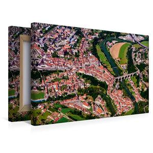 Premium Textil-Leinwand 45 cm x 30 cm quer Die Altstadt von Frib