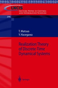 Realization Theory of Discrete-Time Dynamical Systems