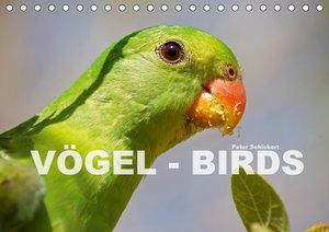 Vögel - Birds (Tischkalender 2019 DIN A5 quer)