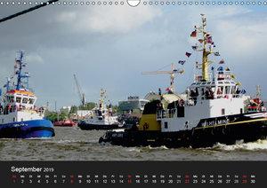 Hamburg Hafengeburtstag (Wandkalender 2019 DIN A3 quer)