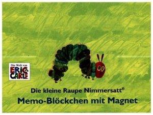 Die kleine Raupe Nimmersatt - Memo-Blöckchen mit Magnet