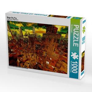 Mega City Psy 1000 Teile Puzzle quer