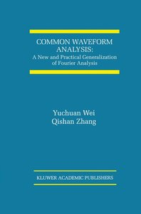 Common Waveform Analysis